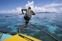 Fiskare på Beqa, Fiji